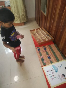 A Child who finds his solace in letters