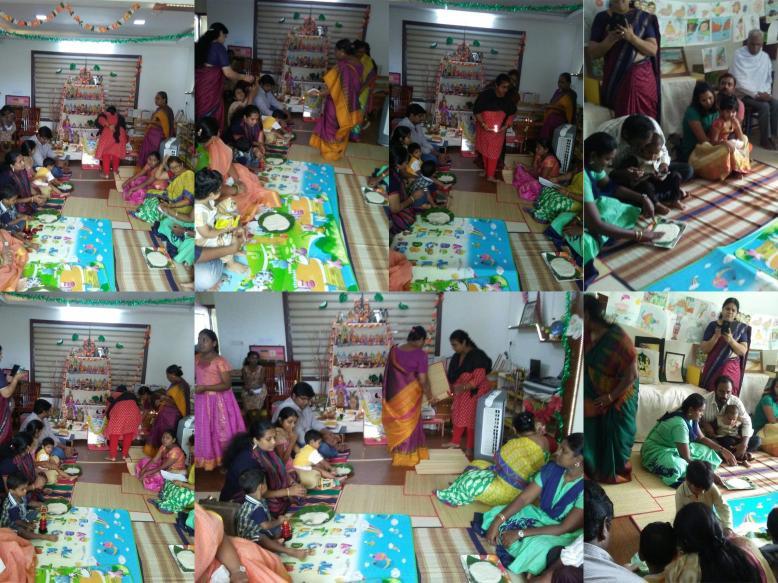 collage - vidhyaarambam pooja 2017